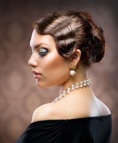 Wedding Hairstyles Drawing: Plan Your Art Deco Wedding