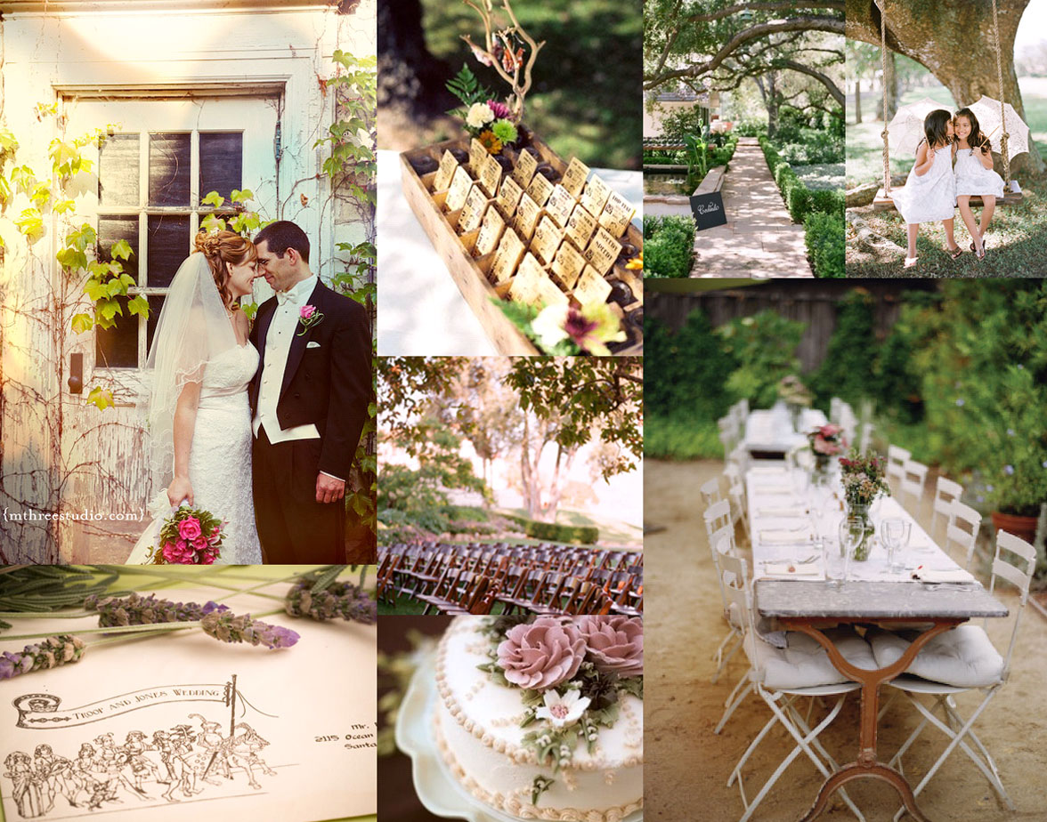 Never Ending Trend: Outdoor Weddings
