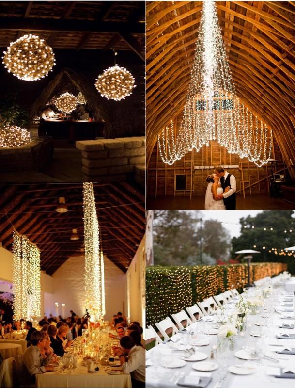 Lights Wedding Decor