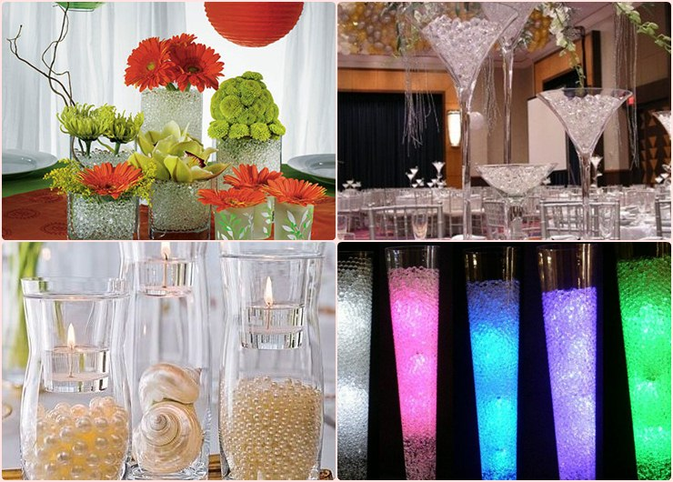 Water Pearls Decor Ideas