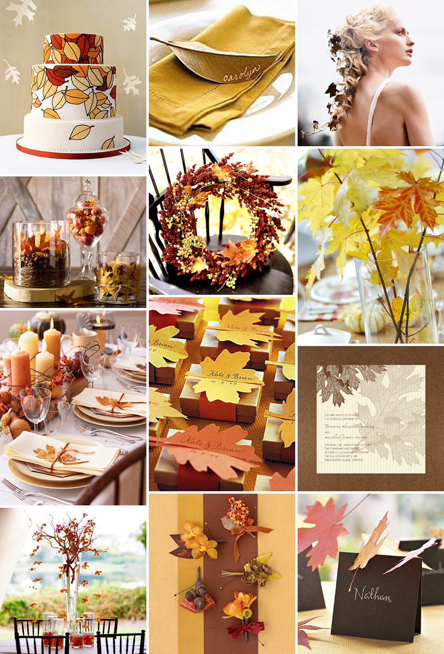 Fall-ing In Love With Fall Wedding Ideas