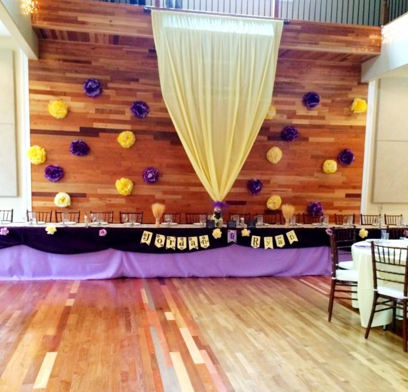 wedding decor paper flowers