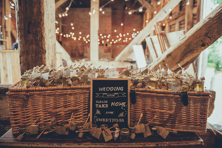 Barn Wedding Favors