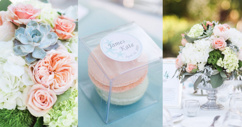 Romantic-Peach-and-Mint-Wedding