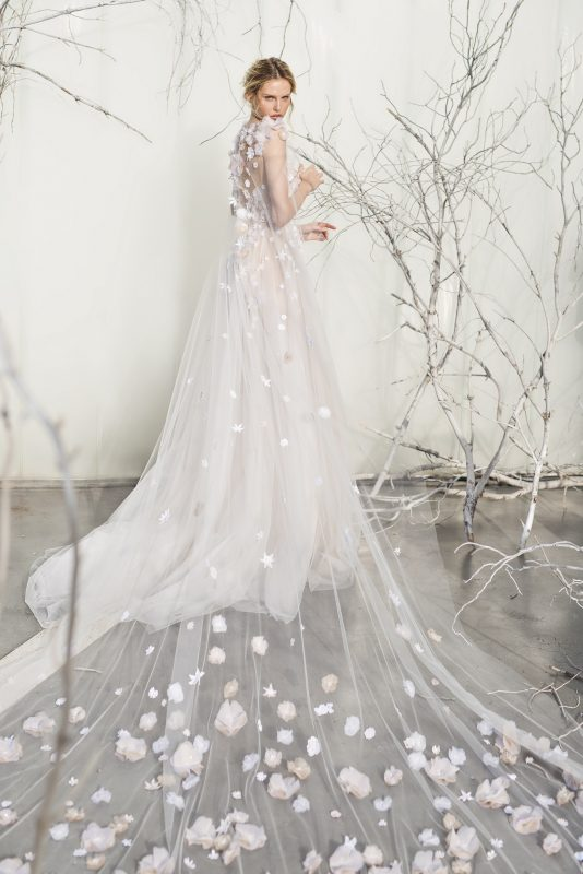ELSA WEDDING DRESS BY MIRA ZWILLINGER