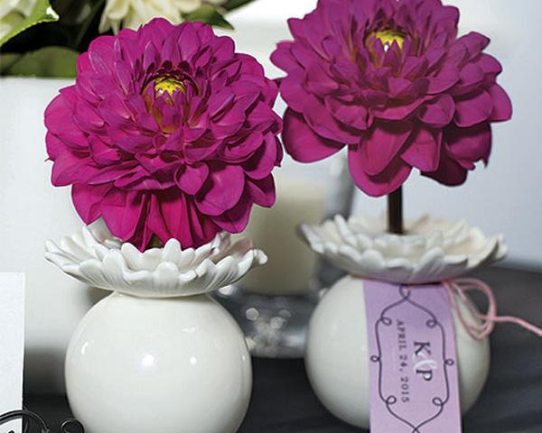 miniature porcelain vases